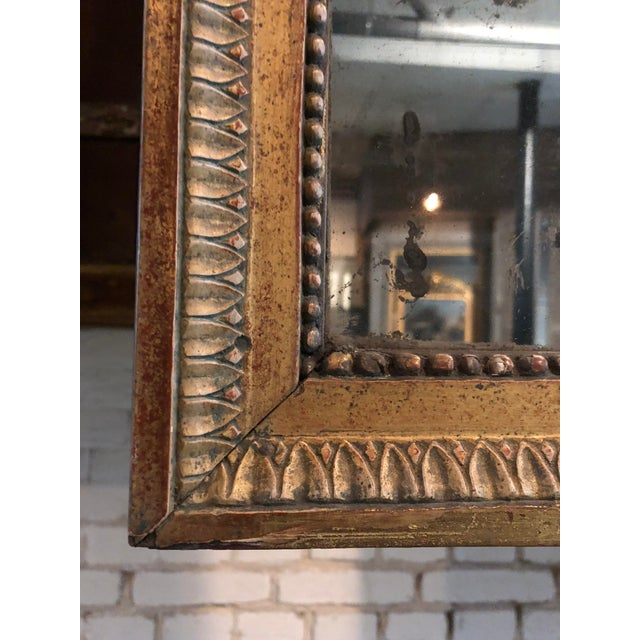 Louis XVI 18th Century Pier Mirror For Sale - Image 3 of 8