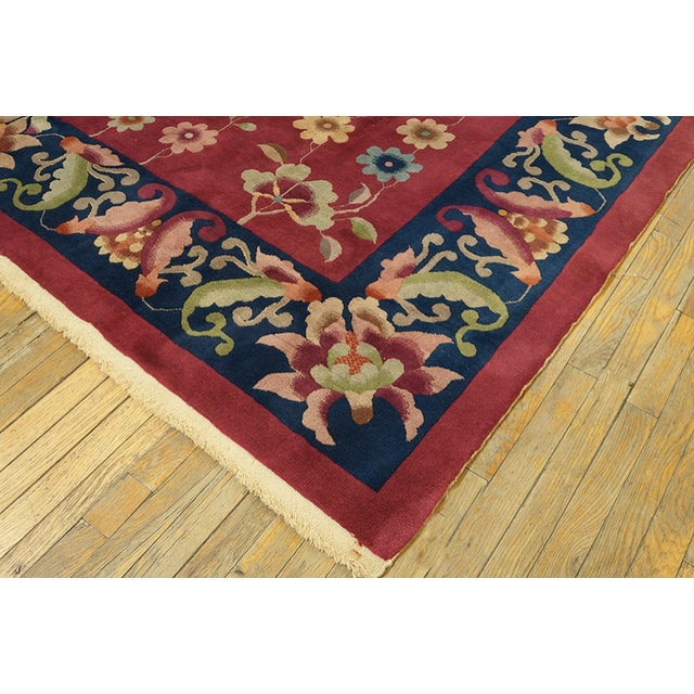 Art Deco Antique Chinese Art Deco Rug For Sale - Image 3 of 7