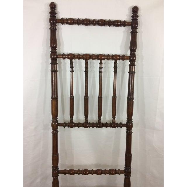 Napoleon III High Back Spindle Chair For Sale - Image 5 of 8