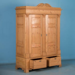 19th Century Antique Danish Pine Armoire Preview