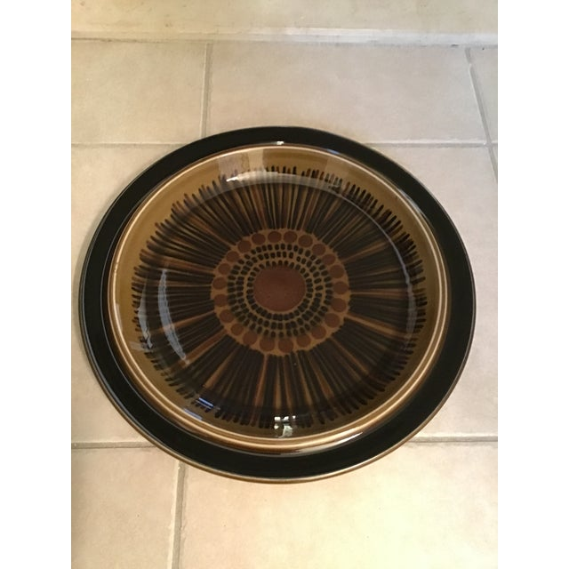 Mid-Century Arabia Finland Kosmos Platter by Gunvor Olin-Gronqvist For Sale - Image 9 of 9