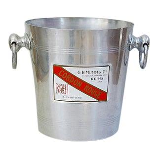 G.H. Mumm & Co. Cordon Rouge Ice Bucket
