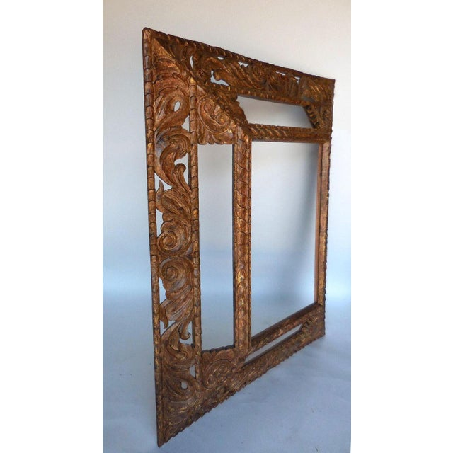 Baroque Pair of Large-Scale Mirrors For Sale - Image 3 of 5