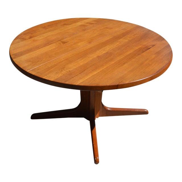 Mid-Century Danish Modern Teak Dining Table - Image 1 of 7