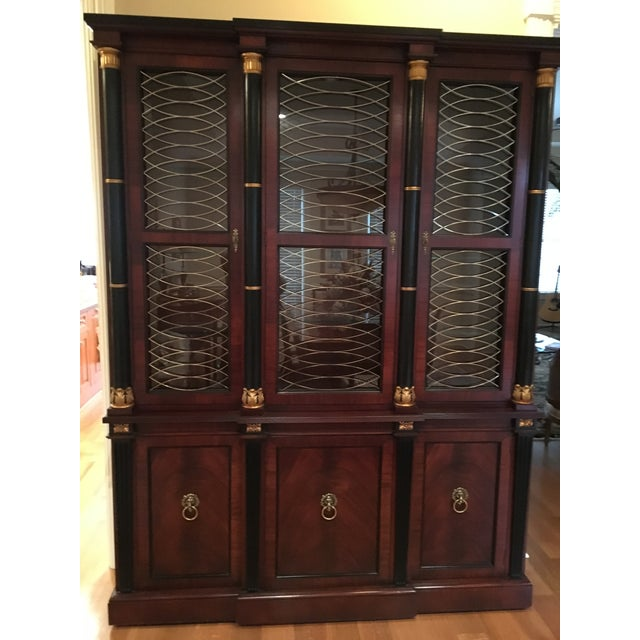Baker Regency China Cabinet - Image 3 of 5