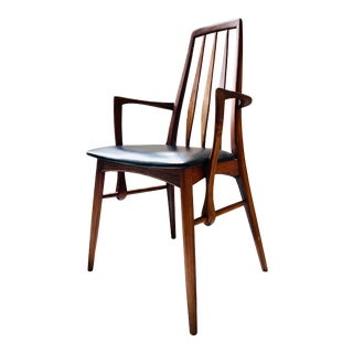 """Danish Rosewood """"Eva"""" Arm Chair by Niels Kofoed For Sale"""
