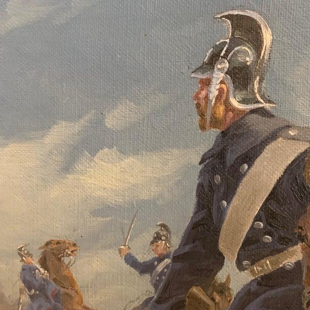 1920s Karl Hansen Reistrup (1863-1929) Danish Dragoons For Sale - Image 5 of 12