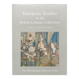 European Textiles in the Robert Lehman Collection For Sale