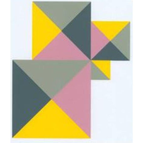1997 Abstract Serigraph by Anton Stankowski, Limited Edition - Image 1 of 3