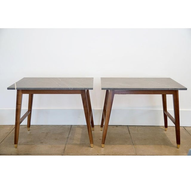 Brown Contemporary Customizable DJ Table Six For Sale - Image 8 of 8