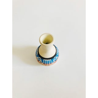 Small Vintage Southwestern Carved Pottery Vase Preview