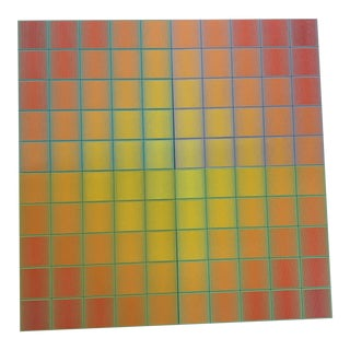 """Richard Anuszkiewicz """"Centum"""" Installation"""
