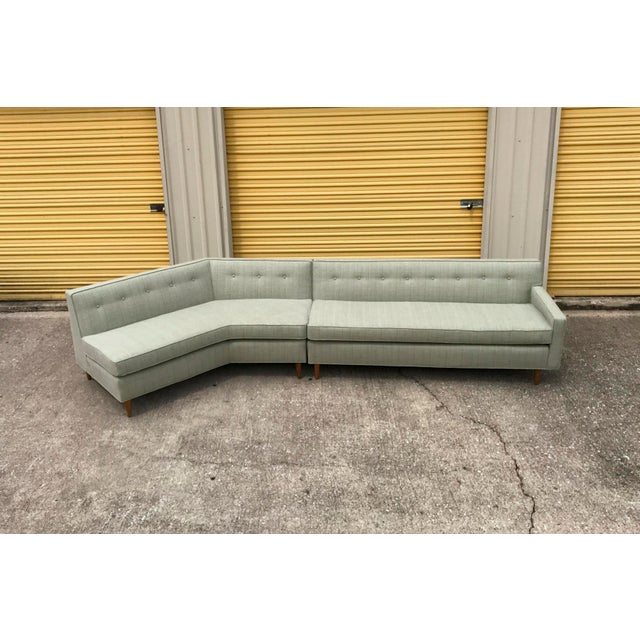 Mid-Century Modern Marden Mid-Century Sectional Sofa - 2 Pieces For Sale - Image 3 of 11
