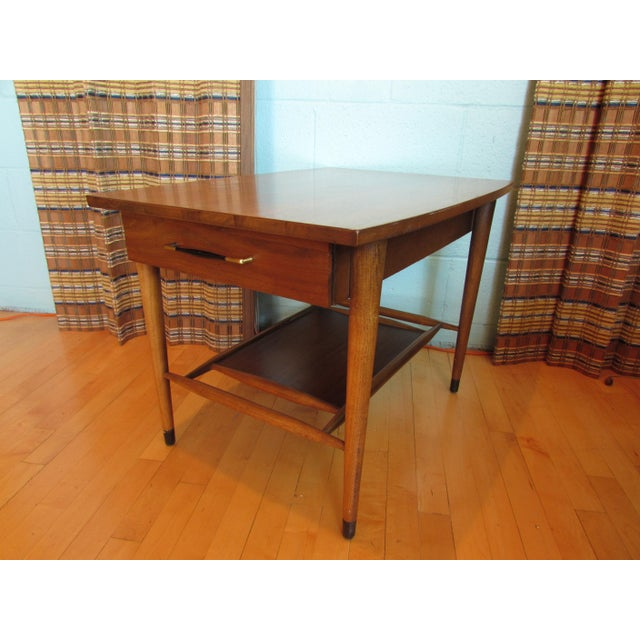 Mid-Century Modern Wood End Table - Image 2 of 8