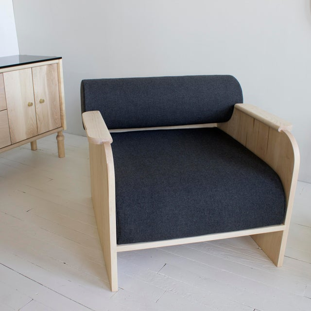 Not Yet Made - Made To Order June Lounge and Club Chair For Sale - Image 5 of 8