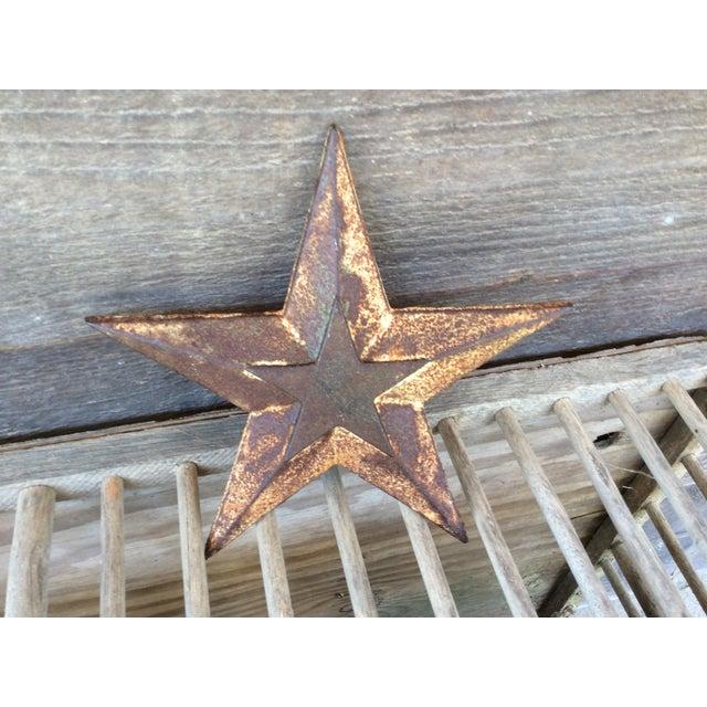 Vintage Cast Iron Star - Image 3 of 6