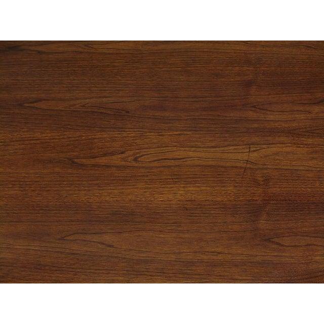 "John Van Koert ""Casa Del Sol"" Coffee Table Of Walnut & Cast Metal Scrollwork For Sale In Chicago - Image 6 of 7"