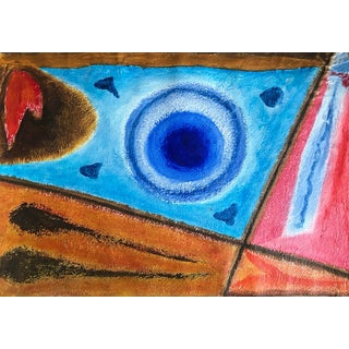 Abstract Painting by Richard M Goodwin 50s For Sale