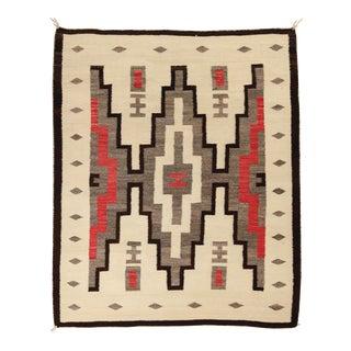 "Vintage Navajo Rug, 4'6"" X 5'4"" For Sale"
