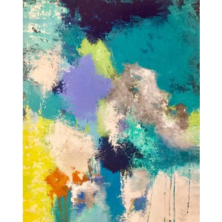 """""""Alpha Pulse"""" Original Abstract Acrylic Painting For Sale"""