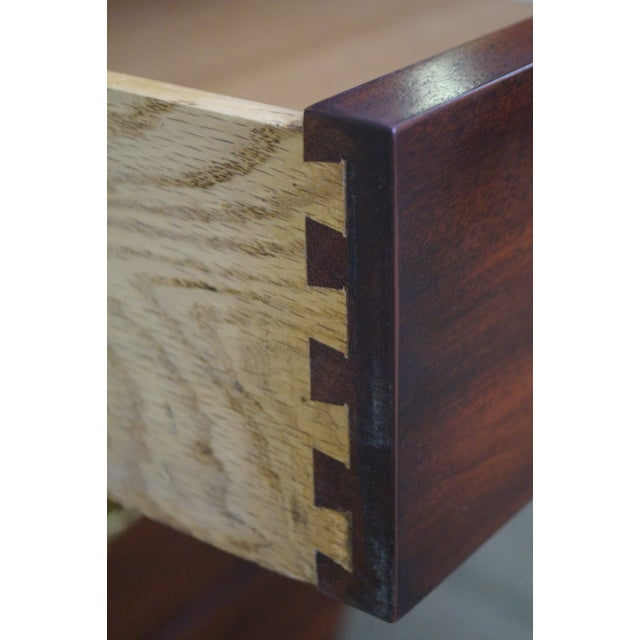 """Henkel Harris """"Spnea"""" Ball & Claw Foot Chippendale Mahogany Highboy For Sale In Philadelphia - Image 6 of 10"""