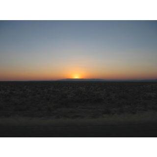 """Sunset"" Contemporary Fine Art Photographic Color Print For Sale"