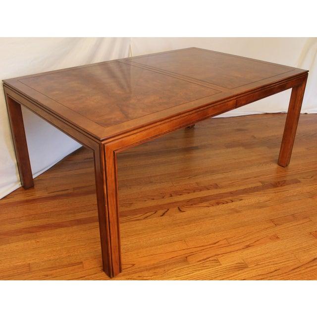 Vintage Henredon Campaign Dining Set Chairish Table Ebay