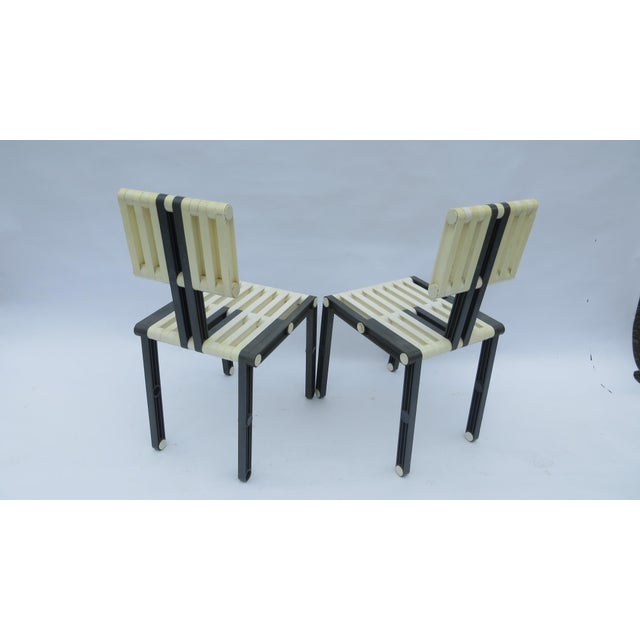 1970s Vintage Italian Chairs - Set of 6 For Sale - Image 5 of 11