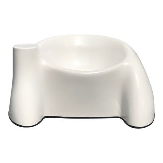1970s Vintage Wendell Castle White Fiberglass Lounge Chair For Sale