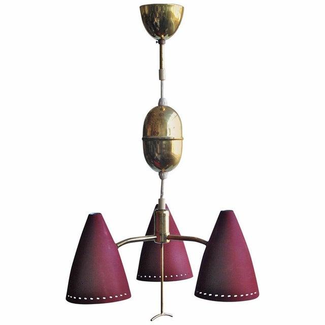 Metal Swedish Pendant, Circa 1960s For Sale - Image 7 of 7