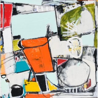"""Sarah Trundle """"Bucket List"""" Original Abstract Painting For Sale"""