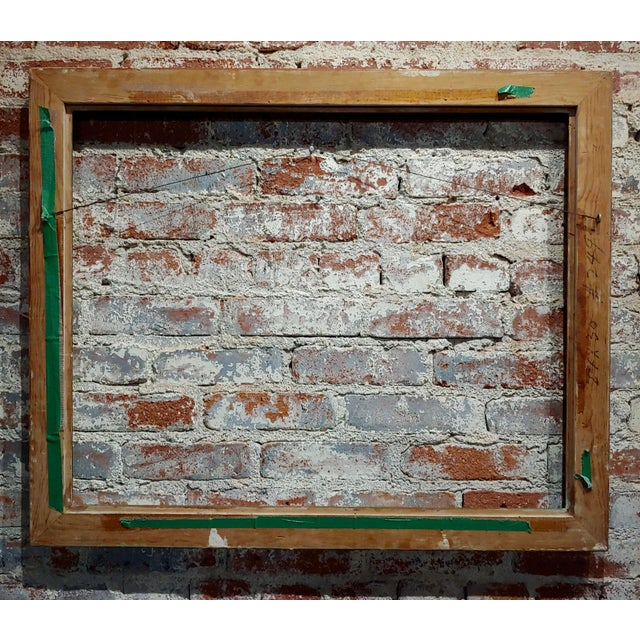 """Art Nouveau 24x30"""" Gilt Wood Frame -C1900s For Sale - Image 10 of 11"""