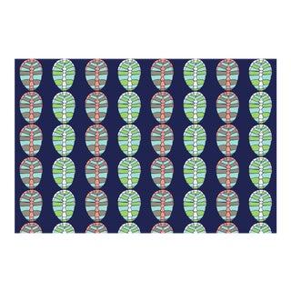 Tortoise Midsummer's Night Linen Cotton Fabric, 3 Yards For Sale