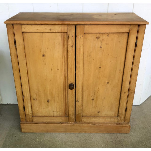 19th Century English Pine Cabinet For Sale - Image 12 of 12