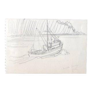 Inside Passage Alaska by Eleanore Stevens 1960 For Sale