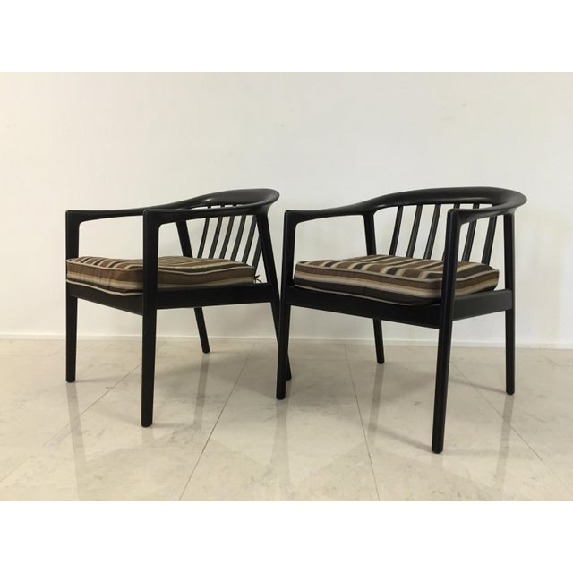 Dux Folke Ohlson Danish Modern Chairs - A Pair For Sale - Image 5 of 7