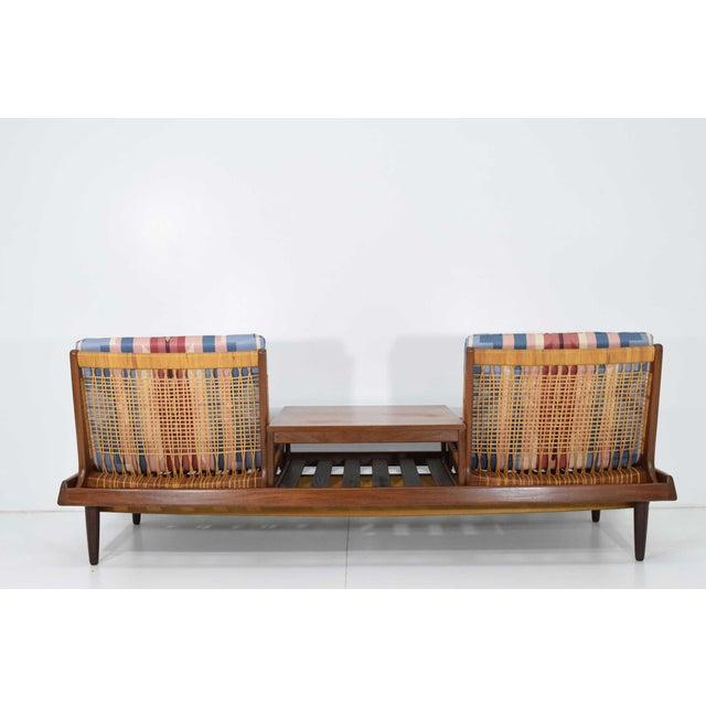 Mid-Century Modern 1950s Vintage Modular Bench Model 161 Designed by Hans Olsen for Bramin For Sale - Image 3 of 13
