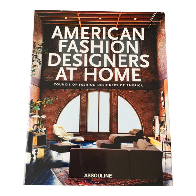 """American Fashion: Designers at Home"" Coffee Table Book - Image 1 of 6"