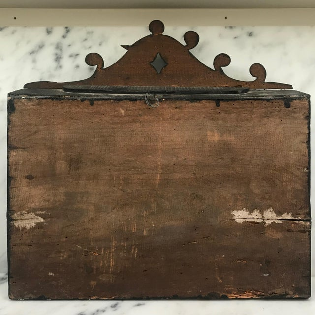 Early 19th Century Diorama Shadow Box of Sailing Vessel For Sale - Image 10 of 11