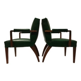 Gilbert Rohde Armchairs for Herman Miller, 1940s - A Pair
