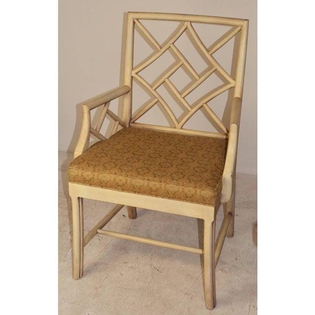 """Chippendale Vintage """"Cockpen"""" Chairs - Set of 6 For Sale - Image 3 of 6"""