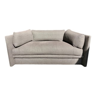John Saladino for Baker Angled Sofa For Sale