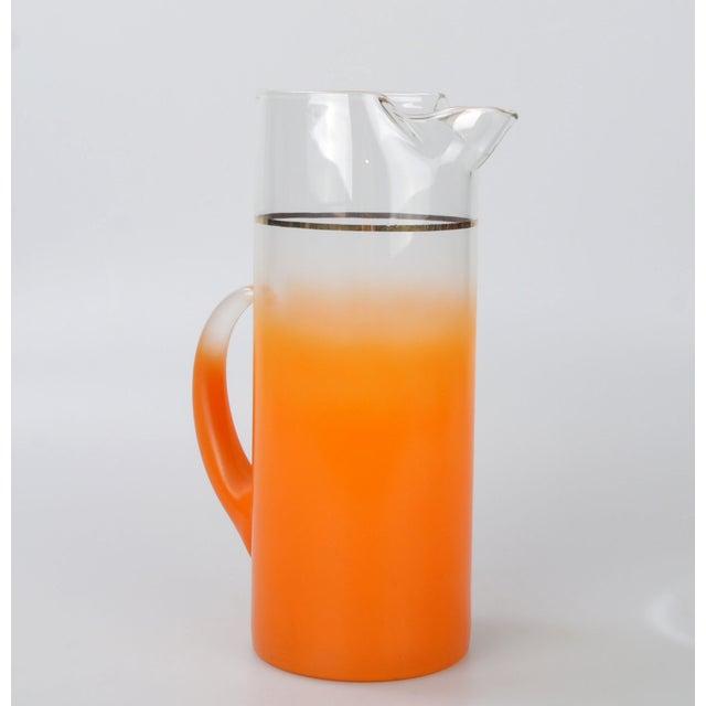 Orange Ombré Pitcher - Image 2 of 6