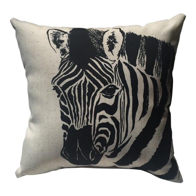 Zebra Print Pillow - Image 1 of 7