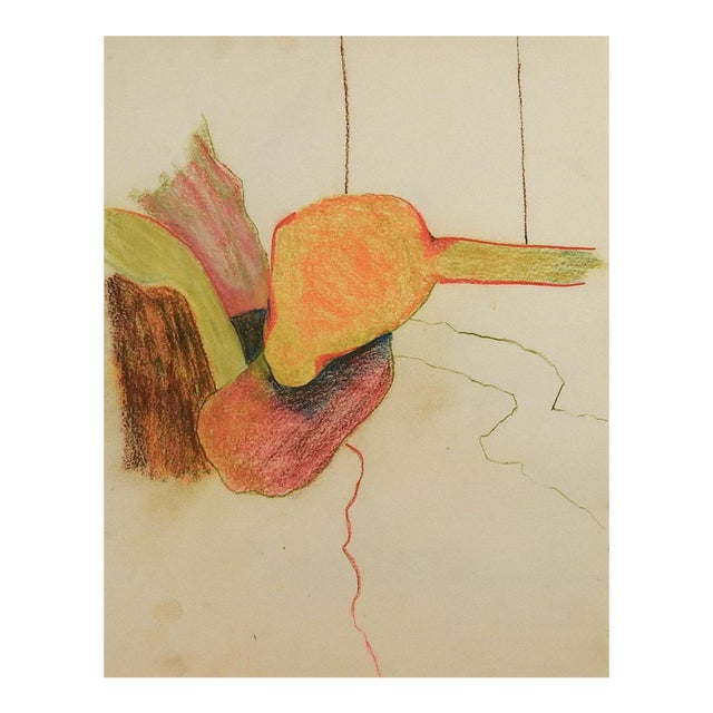 Abstract Color Pencil Drawing For Sale