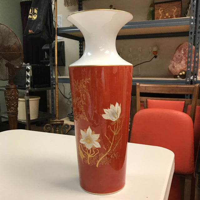 Jaeger & Co. Hand-Painted Vase For Sale - Image 4 of 11
