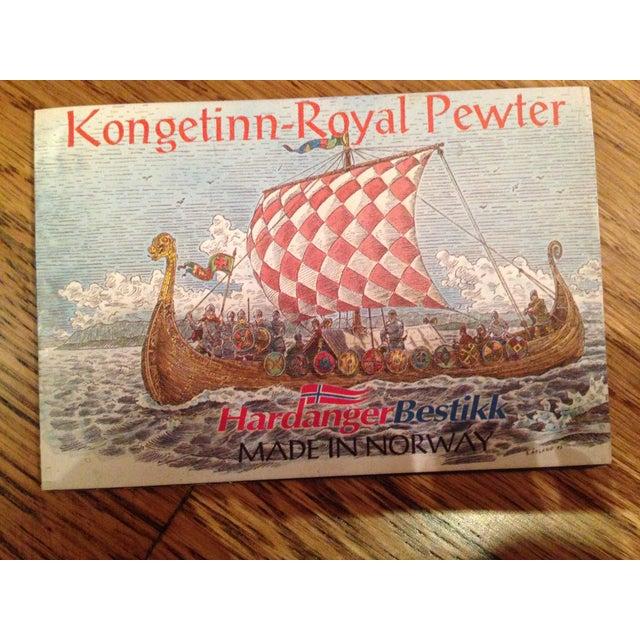 Kongetinn Royal Pewter Cheese Set - Image 10 of 10