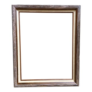 Natural Wood Frame With Linen Matte