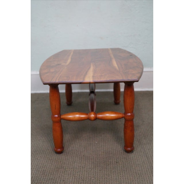 Studio Made Solid Walnut & Mix Wood Coffee Table - Image 6 of 10