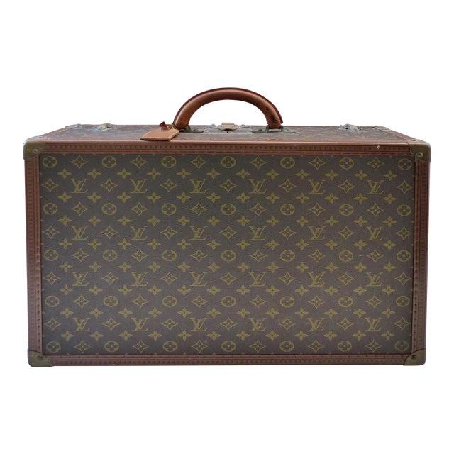 Louis Vuitton Hard Case Suitcase, 1950s For Sale